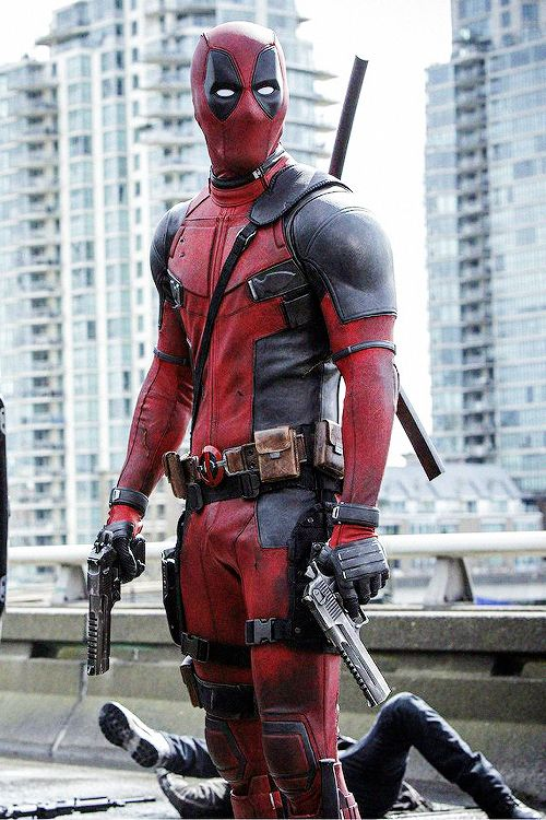 #Deadpool #Fan #Pic. (Deadpool in his new Movie) By: Tumbler. (To watch the latest Dead pool trailer, simply tap the URL below while in your browser: http://m.youtube.com/watch?v=Q6sS0qWzTdg  P.S. MUST BE 18 AT LEAST TO VIEW, NO KIDS ALLOWED! (THE * 5 * S