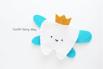 manualidad para esos dientes de leche que se lleva el ratón Perez de muymolon.com