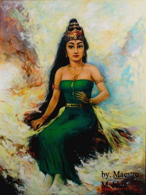 wujud asli nyi roro kidul | Divana Putri Simangunsong