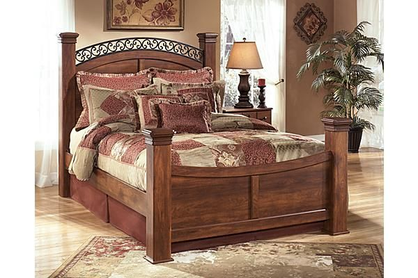 The Timberline Poster Bed From Ashley Furniture Homestore