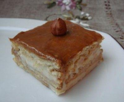 Торт из печенья,мармелада и сгущенного молока (без выпечки)