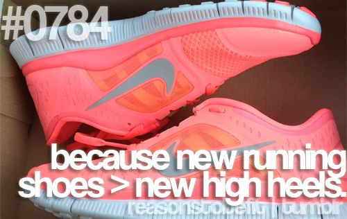 yup :)Running Shoes, Fit, Workout Shoes, Motivation, Workout Attire, High Heels, New Shoes, True Stories, Nike Free
