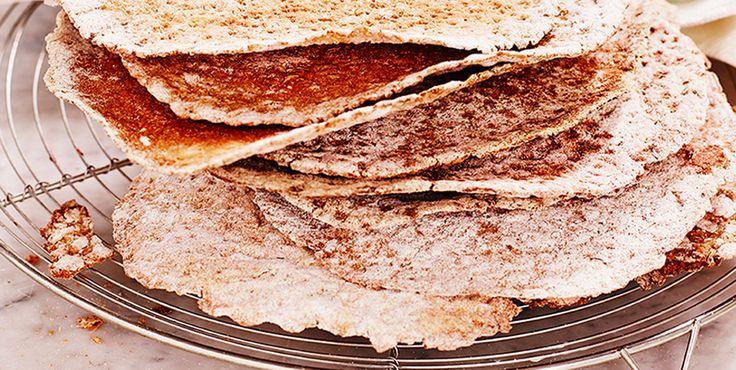 Rågknäckebröd med smak av fänkål och kummin - Kungsörnen