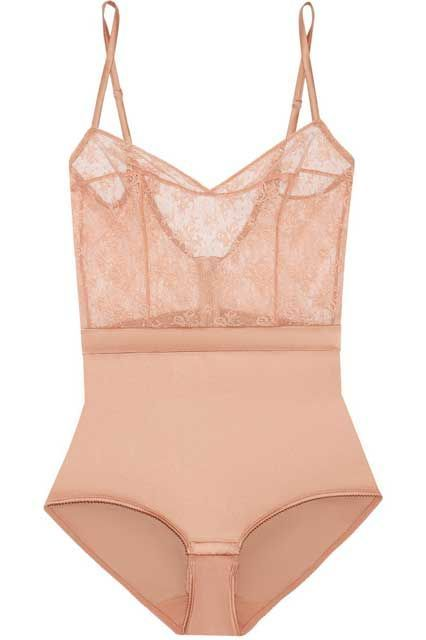 5 French Lingerie Brands You Need To Know #refinery29  http://www.refinery29.com/french-lingerie#slide-11  Get the old-fashioned bodice look without suffering through tight corset laces.Eres Charivari Stretch-lace and Silk-blend Satin Bodysuit, $510, available at Net-A-Porter....