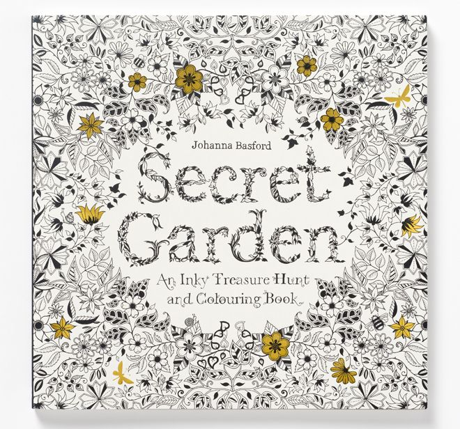 Collins Booksellers Has Secret Garden An Inky Treasure Hunt And Colouring Book By Johanna Basford Buy