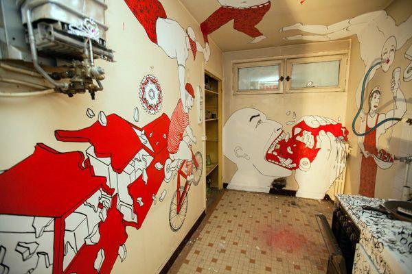 La Tour Paris 13 - street art project