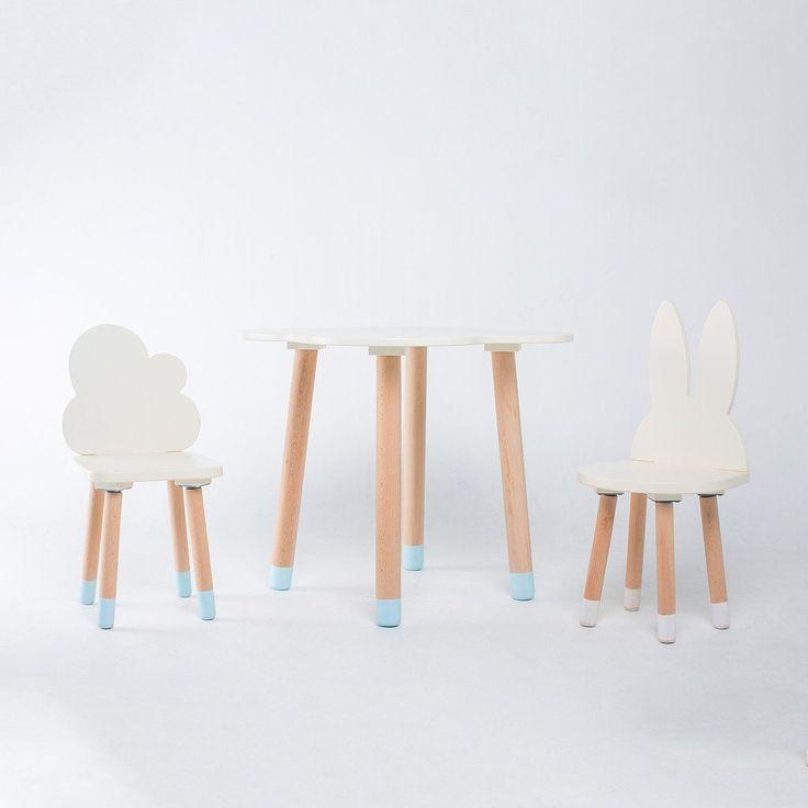FUN Wooden Kids Table and Chairs Set - Mini Me Ltd