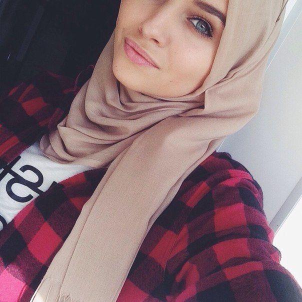 yeux bleux, fille, hijab, l'Islam, amour - image #2768019 par ...