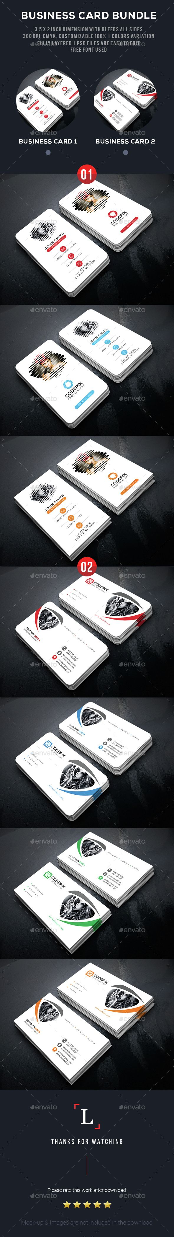100 [ Free graphy Business Cards Templates ]