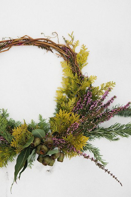 Wreath by Fox Fodder Farm | Nicole Franzen by Nicole Franzen Photography, via Flickr