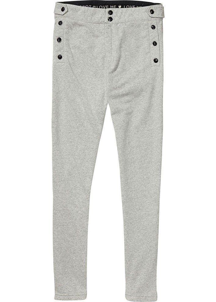 Bukser grå 134793 Slim Dress Joggers - grey melange