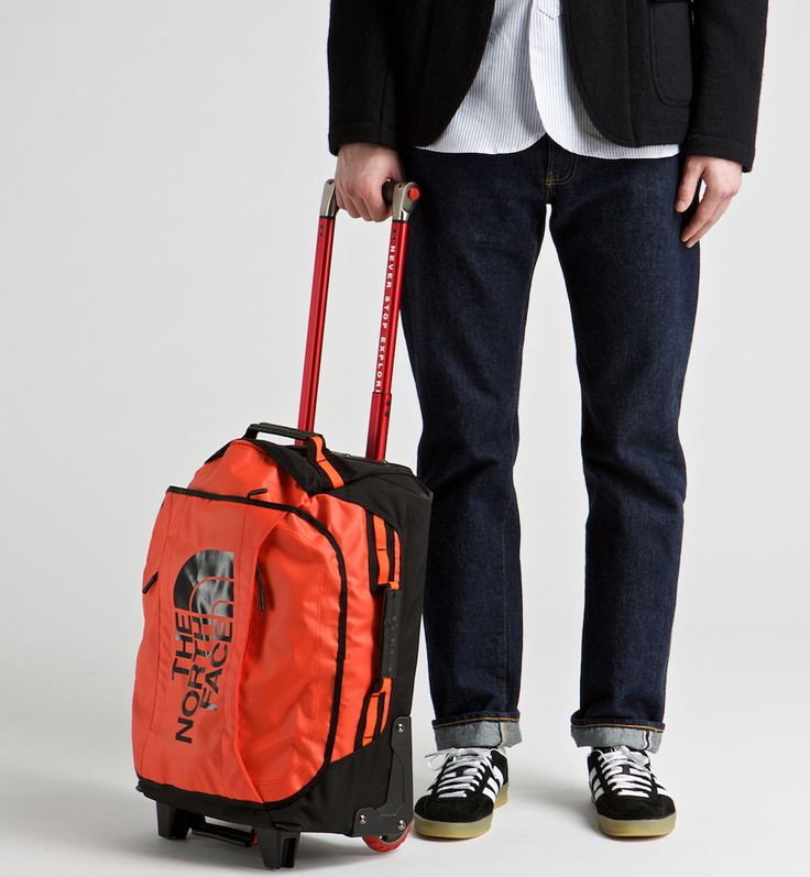 the north face rolling thunder 22 39 39 luggage orange. Black Bedroom Furniture Sets. Home Design Ideas