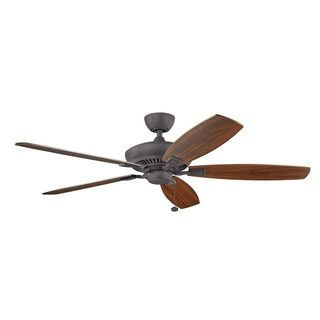 Shop for Kichler Lighting Canfield Collection 60-inch Distressed Black Ceiling Fan. Get free shipping at Overstock.com - Your Online Home Decor Outlet Store! Get 5% in rewards with Club O!