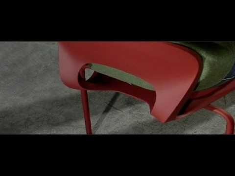 Pikaia chair Kristalia Products available through Selene. www.selenefurniture.com