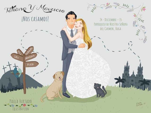 ¿Te casas? ¿Quieres que tu día sea aún más especial? ¡Invitaciones de boda personalizadas con el retrato de los novios! #CustomWeddingInvitation #WeddingPortrait #InvitacionesdeBodaPersonalizadas #Weddings #WeddingInspiration