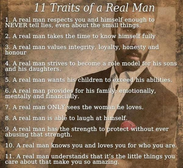 Real Men Quotes: Included In Suburbanmen.com Post A Women's Perspective On