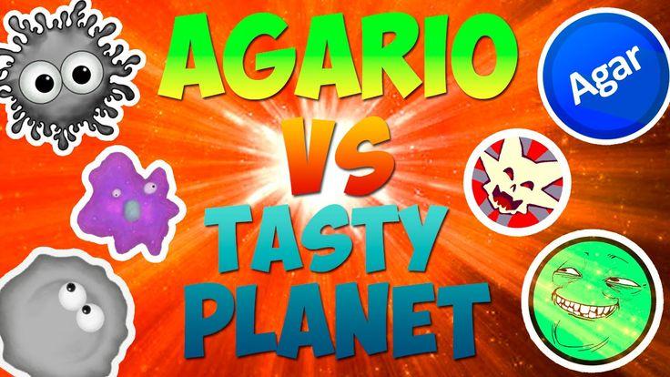 РАННЯЯ ВЕРСИЯ АГАРИО-TASTY PLANET!!(Game VLOG)