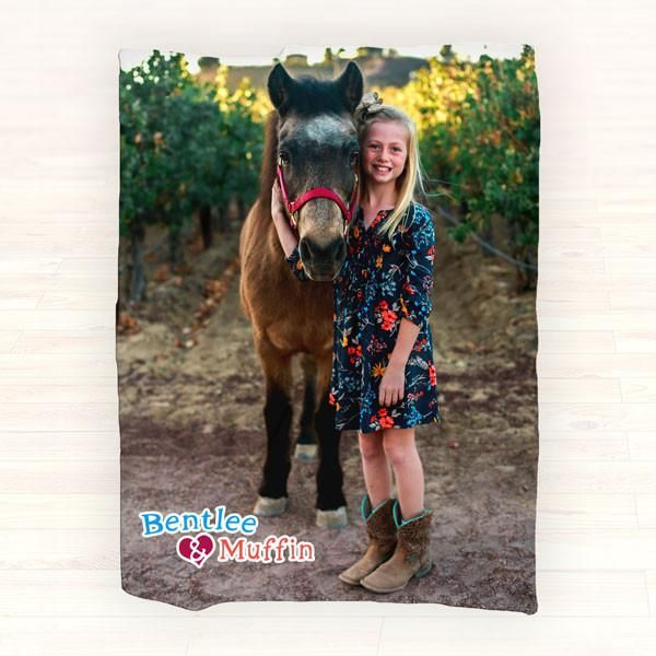 Personalized Photo Fleece Blanket - Picture Blanket, Personalized Throw Blanket - Gift Ideas