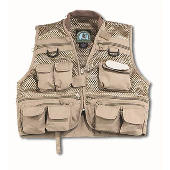 Yes they make a kids mesh fishing vest there are also for Kids fishing vest