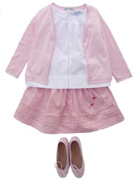 my pink Marie Puce skirt