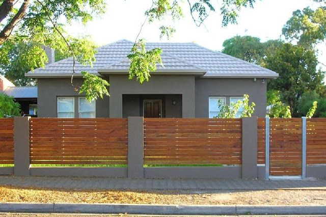 Make Your Own Horizontal Slat Fencing For Your Home
