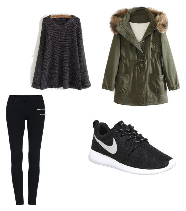 """""""h.k"""" by hanika15 on Polyvore featuring interior, interiors, interior design, home, home decor, interior decorating, WithChic and NIKE"""