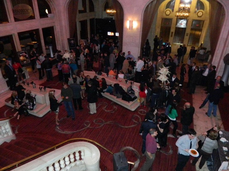 Acrobatique Event Launch at The Renaissance Pittsburgh Hotel Lobby