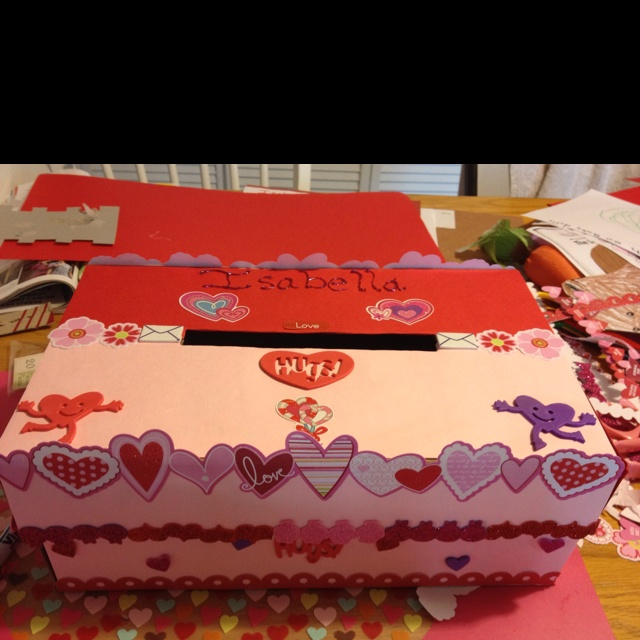How To Decorate Valentine Boxes Decorating Valentine Boxes Youtube 2