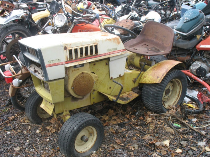 Old Craftsman Garden Tractors : Best images about tractors karts cool stuff on