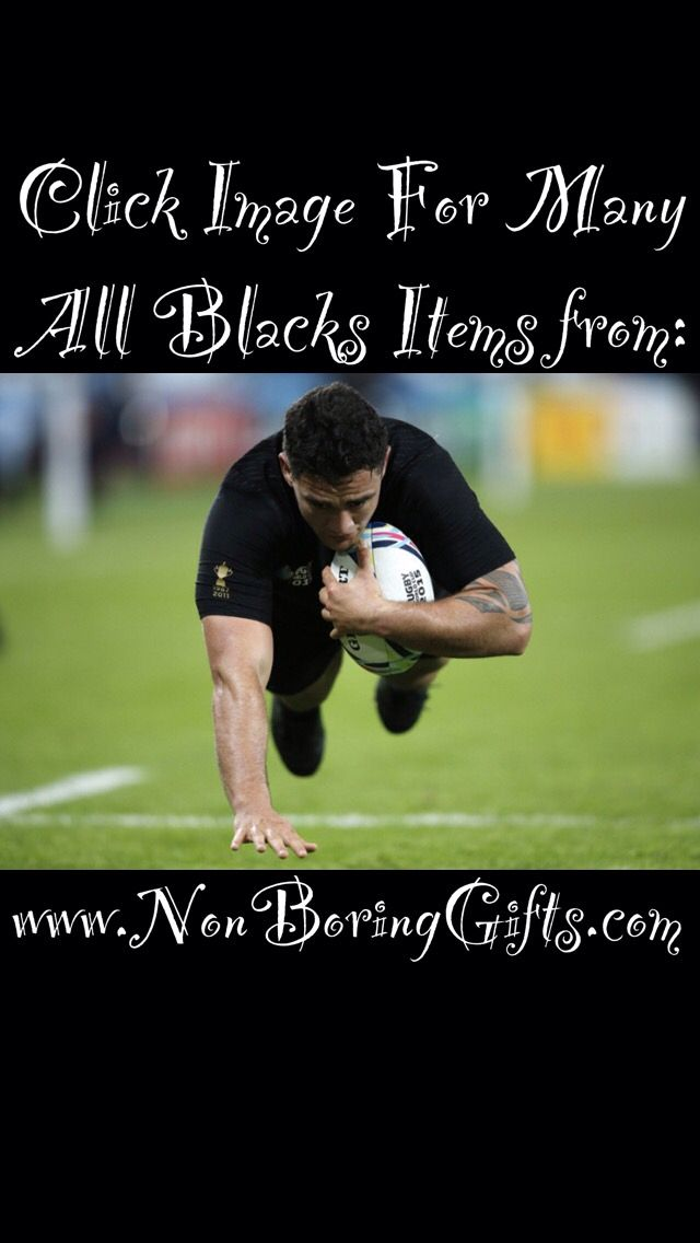 Click image for official all black merchandise from NonBoringGifts.com