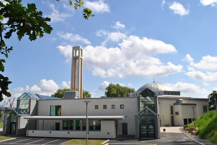 Sweden, Gothenburg. مسجد غوتنبرغ الكبير في السويد