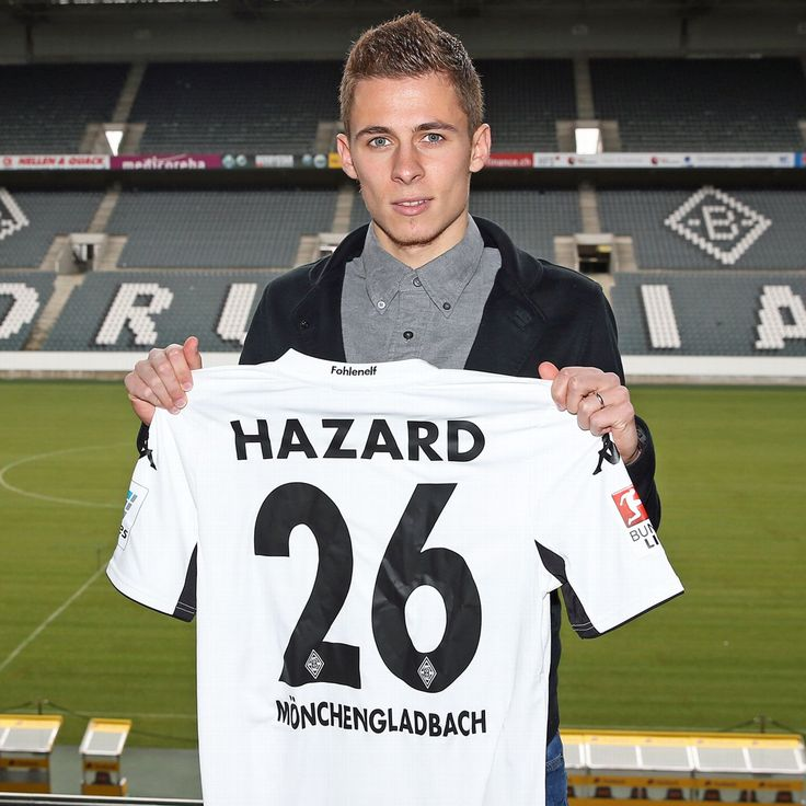 Thorgan Hazard did not expect regular game time at Chelsea
