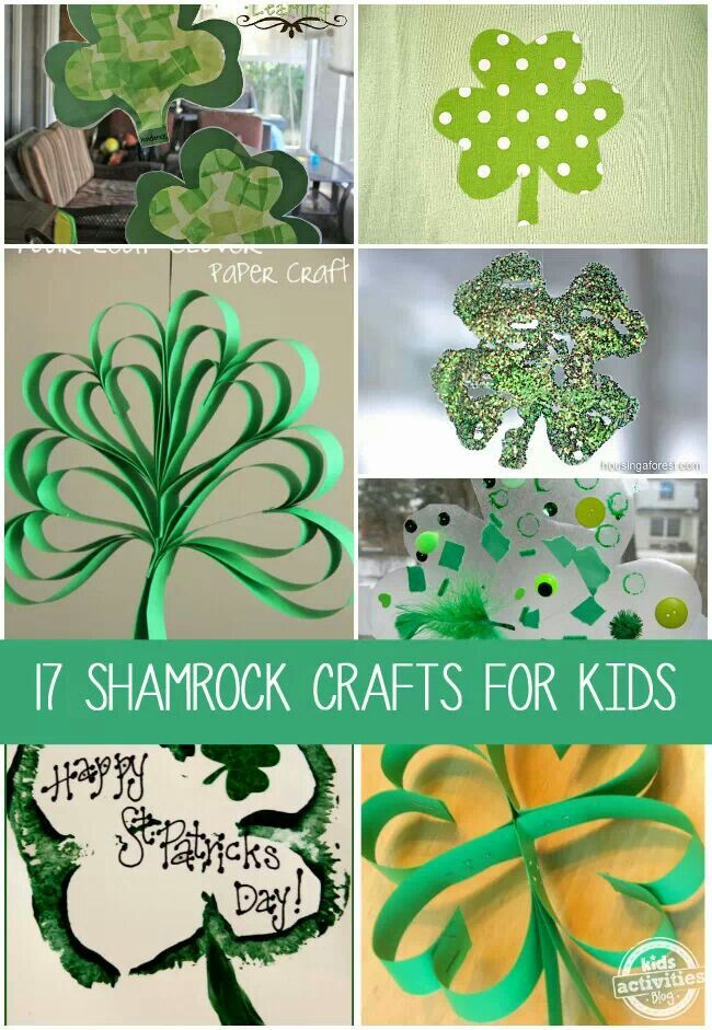 arts and craft st patrick day flag