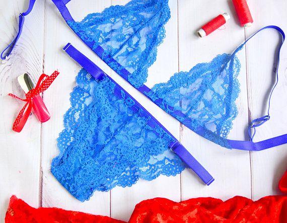 Lace Lingerie // Wedding Night Lingeries // Sexy Lace Details Lingerie //Strappy bralette lingerie