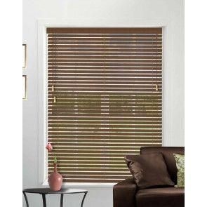 Essentials Auburn Wood Venetian Blinds
