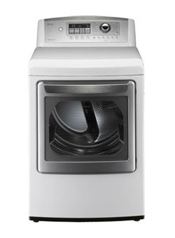LG 7.3 Cu. Ft. Electric Dryer with Sensor Dry and Stainless Tub -White. DLE5001W  Model #: DLE5001W