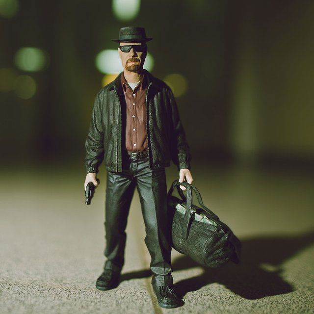 Every other collectible in your collection will start exhibiting strange behavior once the Heisenberg action figure steps into the picture. With pork pie and...