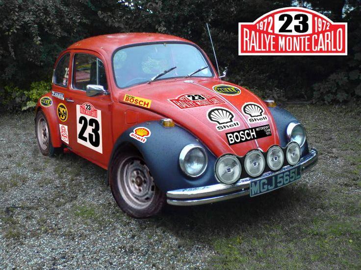 Volkswagen Kever - Rally uitvoering