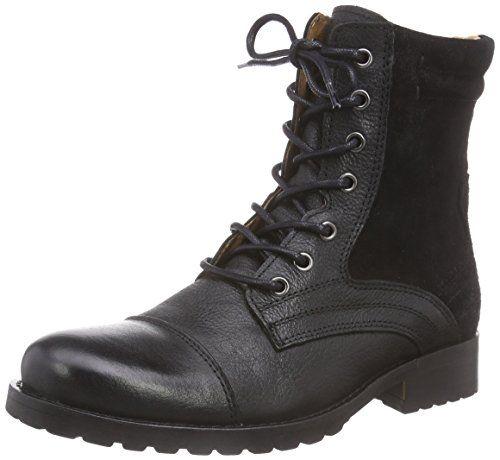 Belmondo 70325101, Damen Biker Boots, Schwarz (nero), 37 EU - http://uhr.haus/belmondo/belmondo-70325101-damen-biker-boots-schwarz-nero