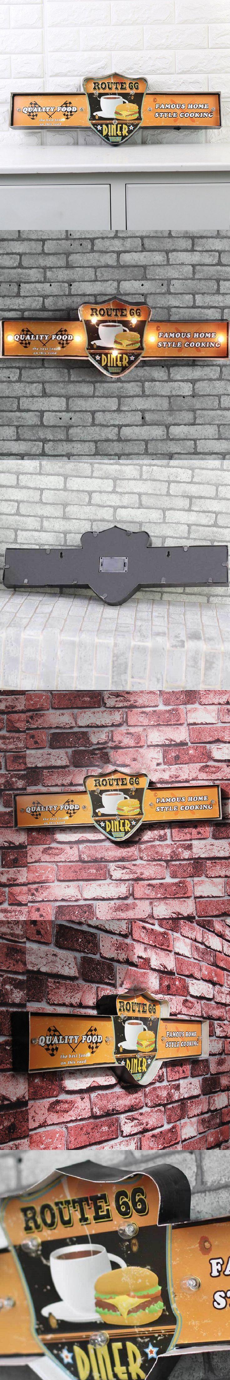 LED Neon Sign Vintage Home Decor Metal Signs Vintage Placa Decorativa Beer Cerveja cafe bar decorative painted wall crafts Sign $65.74