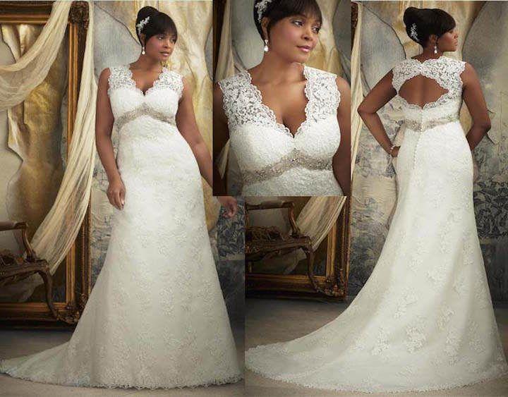Vestidos de novia para gorditas: moda 2015