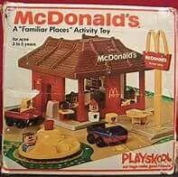McDonalds PlaySkool Set