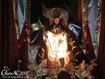 Festividad de San Cayetano Solemne y Tradicional Rezado de la Venerada Imagen de Santo Domingo de Guzmán Mixco 2011