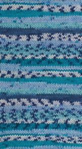 Gruendl Hot Socks Skandinavia Farbe 2 ocean color
