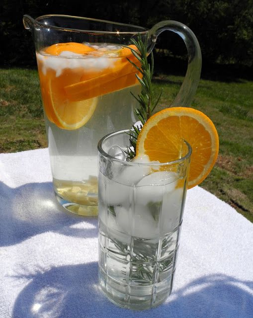 Will help you to drink more water, plus get the added benefits of ginger. This is really good.