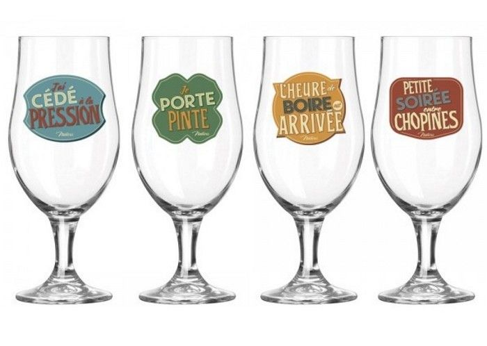 The Great British Pinte Dimple Mug–Lot de 4–Cadeau Emballé dans une boîte en verre chopes à bière idéal comme cadeau bar@drinkstuff
