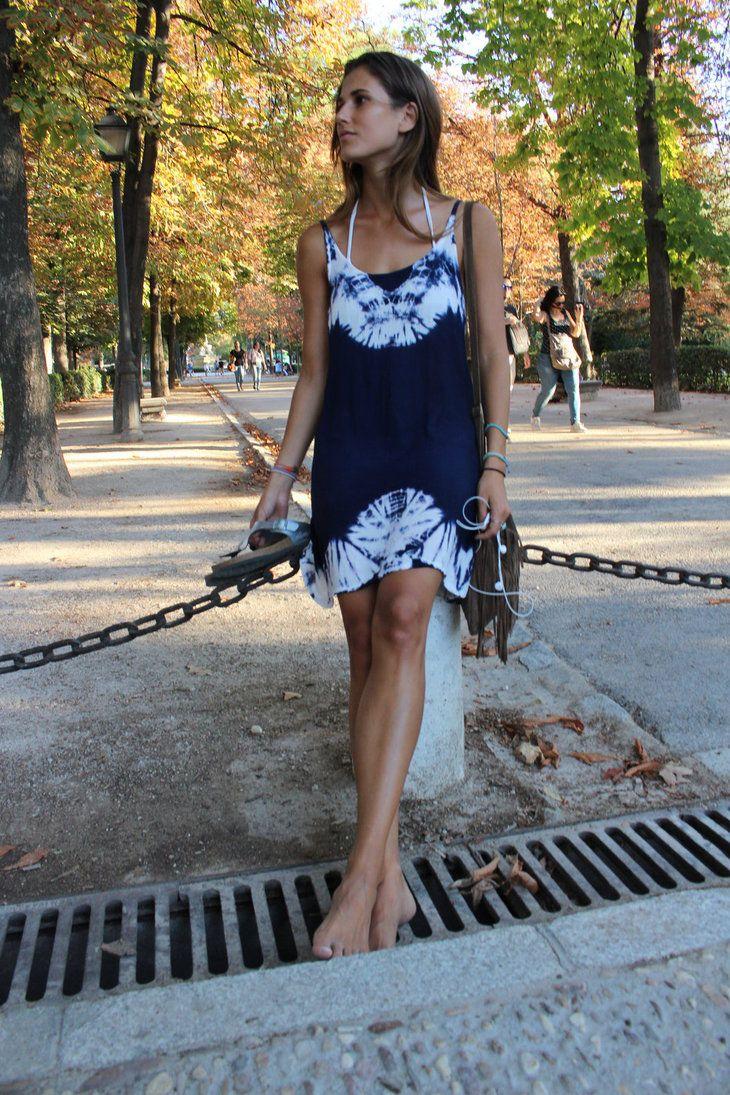 descalza por el parque 5 barefoot at the park 5 by javip1111