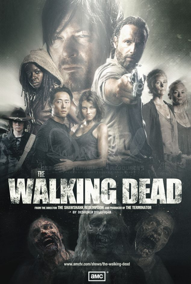 Walking dead lockscreen wallpaper