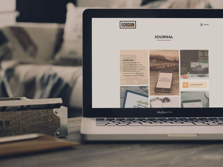 Gordon Wordpress Theme WIP by Emiliano Cicero