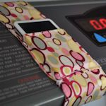 50+ DIY gadget storage ideas.  Cell phone, iPod, mp3 holder for your treadmill, stationary bike or elliptical.